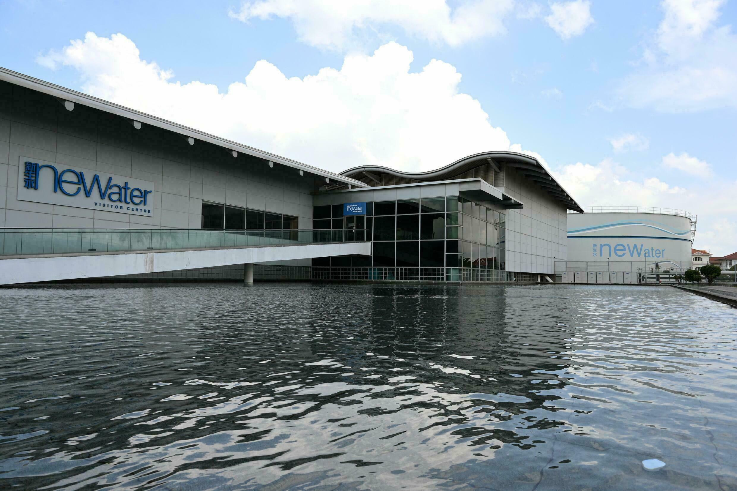 At the heart of Singapore's recycling system is the high-tech Changi Water Reclamation Plant on the city's eastern coast