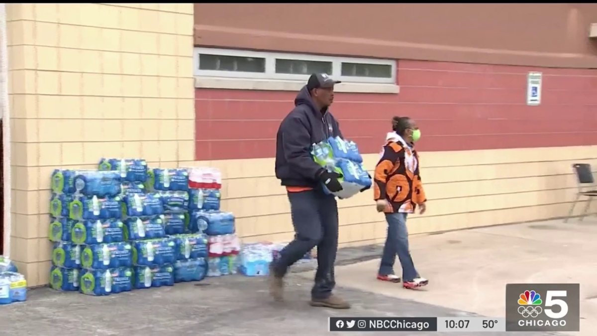 Dixmoor Residents, Officials Asking for More Help From State Level Amid Water Crisis – NBC Chicago